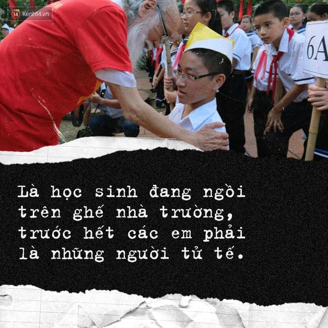 Sau 2 năm, bài phát biểu xúc động của thầy Văn Như Cương tại lễ khai giảng bất ngờ được chia sẻ lại - Ảnh 4.