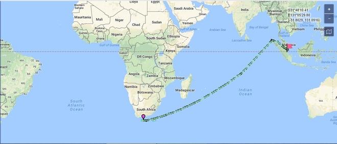 Tàu Gepard thứ 3 của HQVN vượt mũi Hảo Vọng, chiếc còn lại sẵn sàng lên đường - Ảnh 2.