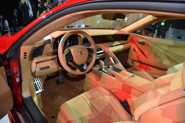 Xe thể thao hạng sang Lexus LC500 2018 rục rịch cập bến Việt Nam - Ảnh 6.