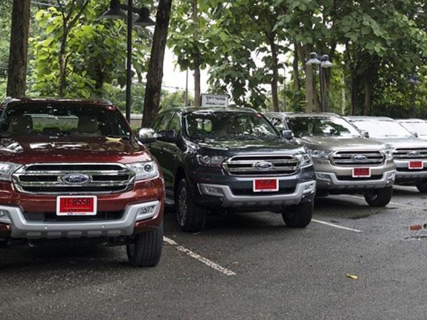 Lỗi túi khí – Ford Việt Nam triệu hồi Everest và Ranger