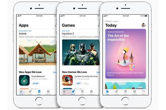 App Store mới quay lưng với ứng dụng miễn phí trong tuần  /// Ảnh: Apple