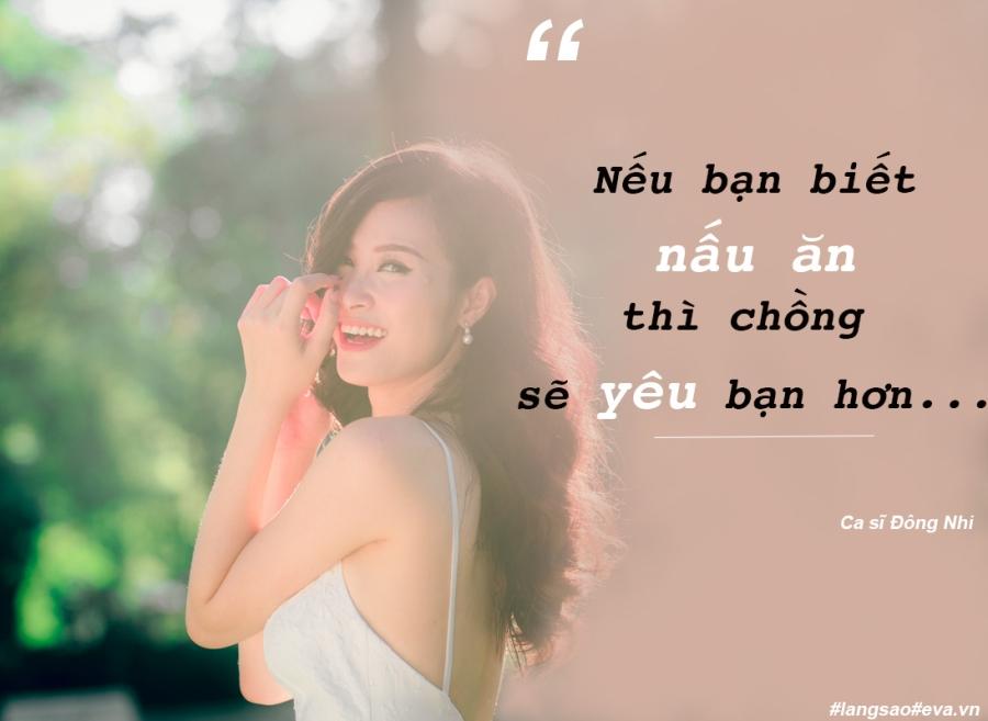 """dong nhi: """"co the do nau an ngon ma anh thang yeu toi"""" - 7"""