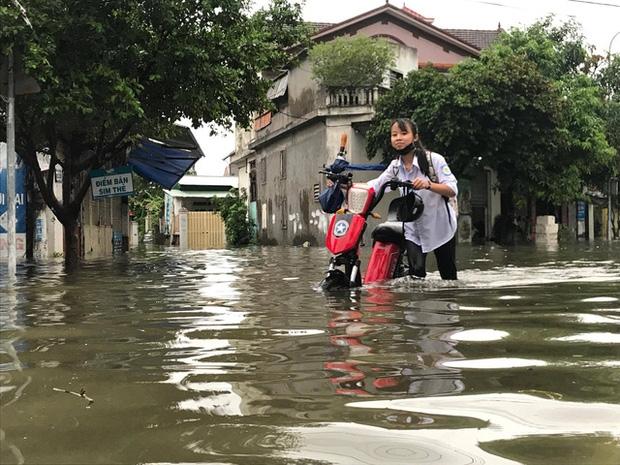 Hơn 300.000 học sinh Hà Tĩnh phải nghỉ học do mưa lớn - Ảnh 1.