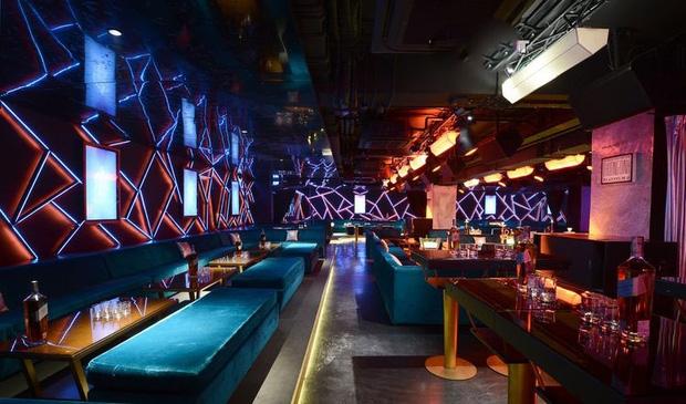 Không gian của Sin Lounge, ACE Night Club vô cùng sang trọng.