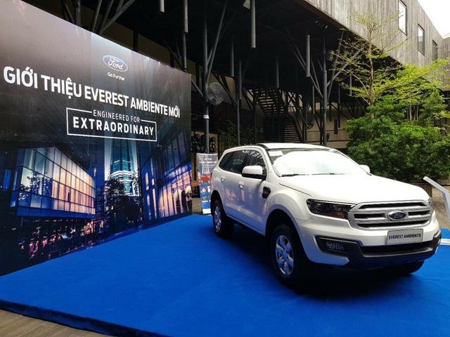 Lộ thêm ảnh và giá bán của Ford Everest mới tại Việt Nam - Ảnh 1.
