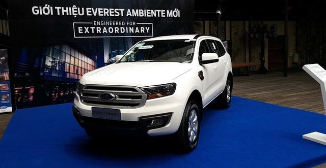 Lộ thêm ảnh và giá bán của Ford Everest mới tại Việt Nam - Ảnh 2.