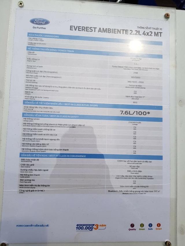 Lộ thêm ảnh và giá bán của Ford Everest mới tại Việt Nam - Ảnh 9.