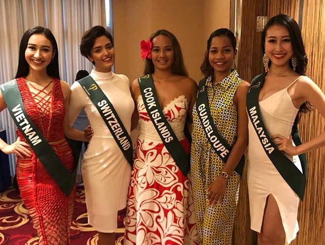 Loạt đối thủ của Hà Thu tại Miss Earth 2017 gây thất vọng bởi nhan sắc kém xinh - Ảnh 2.