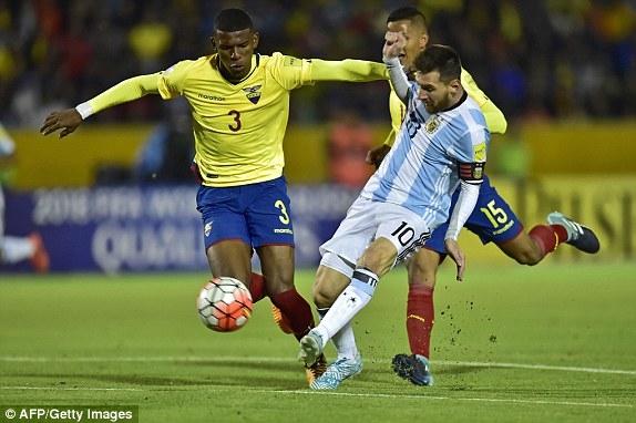 Messi đã có 61 bàn thắng cho đội tuyển Argentina