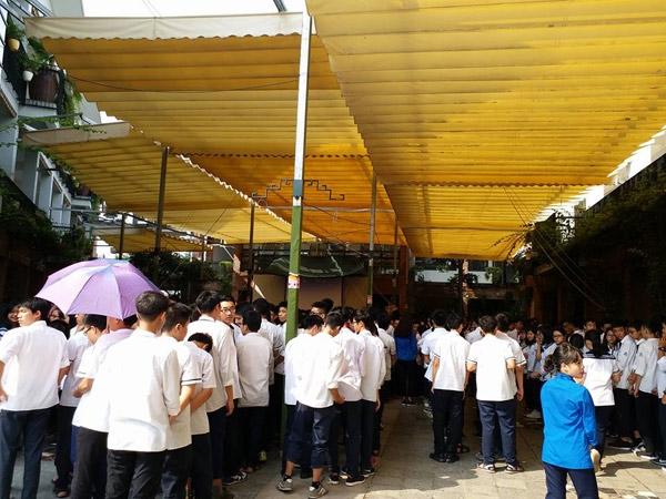 hoc sinh luong the vinh xep hang dai don linh cuu thay van nhu cuong ve truong - 2
