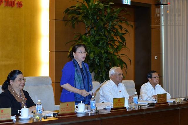 Chủ tịch Quốc hội đặt câu hỏi về địa chỉ, chất lượng tăng trưởng tín dụng.