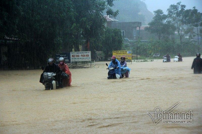 Dự báo thời tiết, bản tin thời tiết, tin thời tiết, lũ, ngập lụt, xả lũ