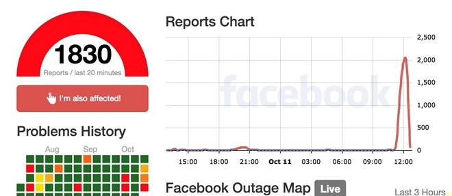 Facebook gap su co tai VN va nhieu quoc gia hinh anh 2
