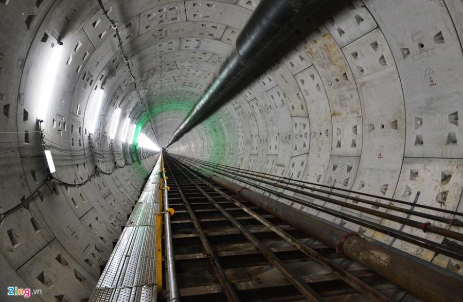 Lo dien ham metro dau tien o Sai Gon hinh anh 2