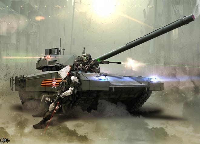 Nga có siêu tăng Armata, Abrams Mỹ không phải đối thủ - Ảnh 1.