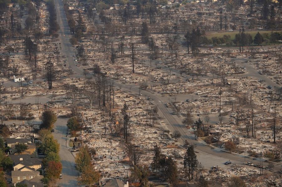 Số người chết do cháy rừng ở California tăng cao - ảnh 1