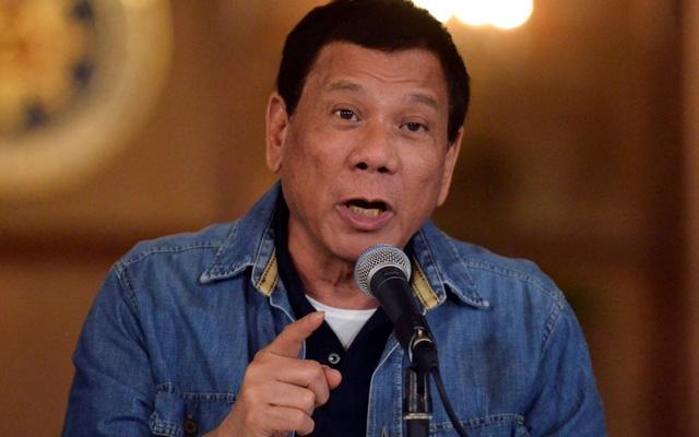 Tổng thống Rodrigo Duterte (Ảnh: Telegraph)