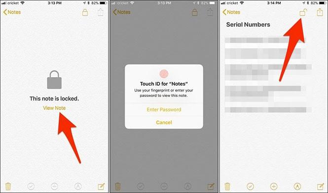Cách bảo vệ tài liệu Notes bằng mật khẩu cho iPhone - ảnh 3