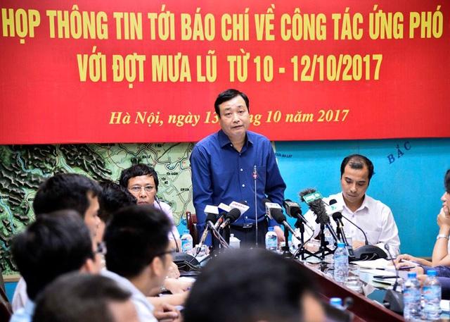 Ông Trần Quang Hoài - Tổng Cục trưởng Tổng cục PCTT.