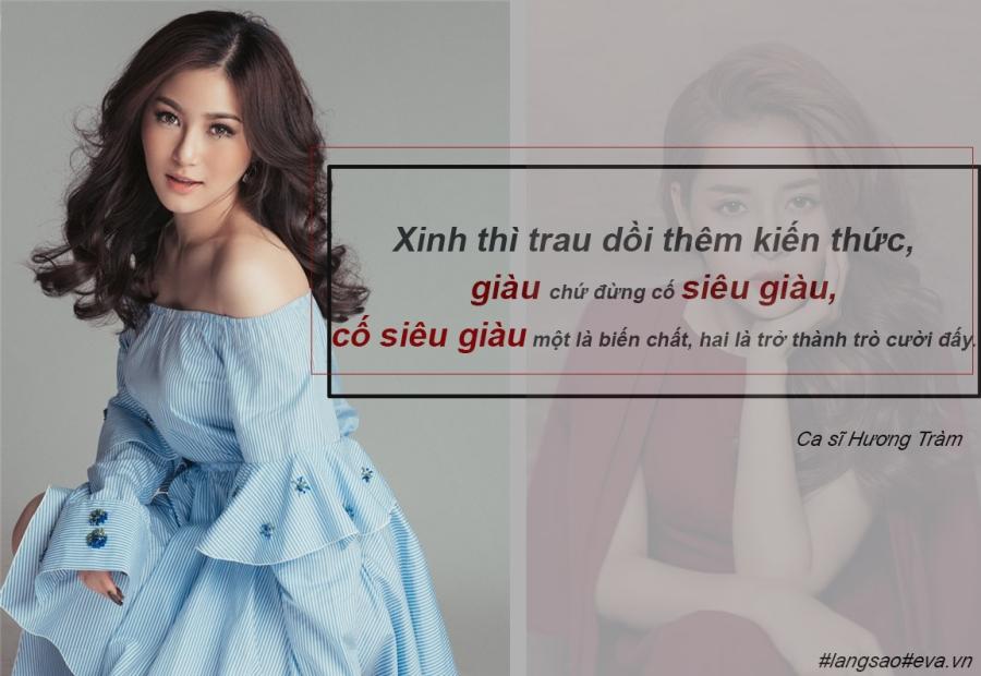 """huong tram: tu co gai 17 tuoi tai nang toi ngoi sao voi nhung phat ngon gay """"bao"""" - 8"""