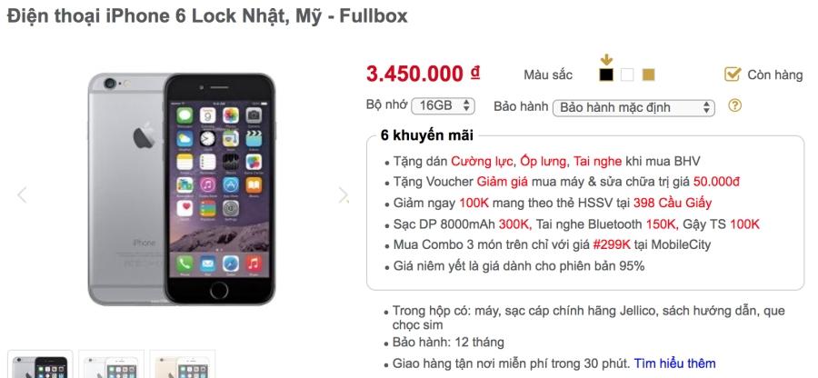 Khảo giá thị trường iPhone lock: phẳng lặng đợi sim ghép mới ảnh 2