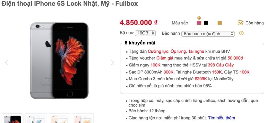 Khảo giá thị trường iPhone lock: phẳng lặng đợi sim ghép mới ảnh 3
