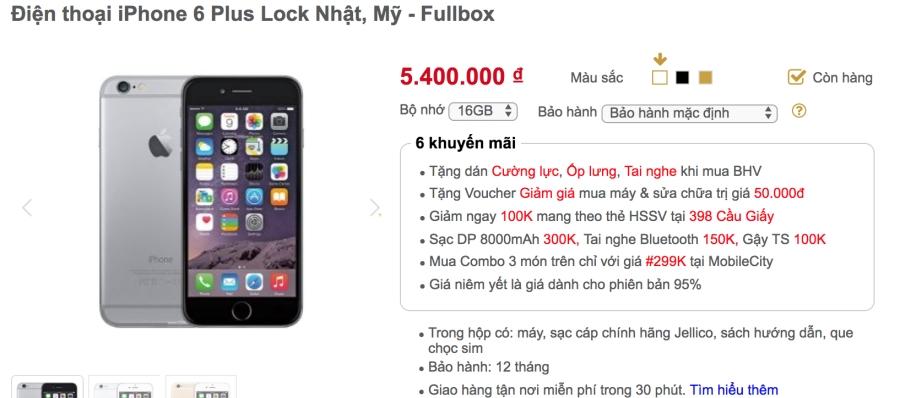 Khảo giá thị trường iPhone lock: phẳng lặng đợi sim ghép mới ảnh 4