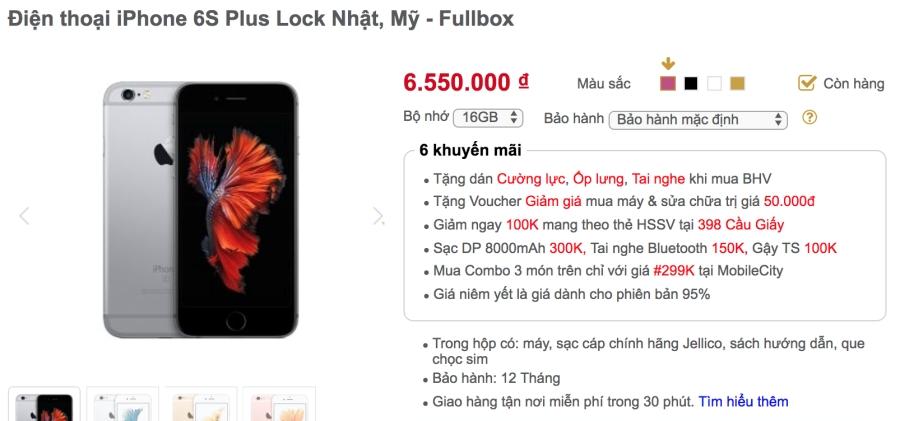 Khảo giá thị trường iPhone lock: phẳng lặng đợi sim ghép mới ảnh 5