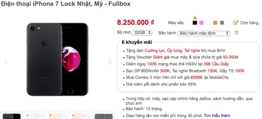 Khảo giá thị trường iPhone lock: phẳng lặng đợi sim ghép mới ảnh 6