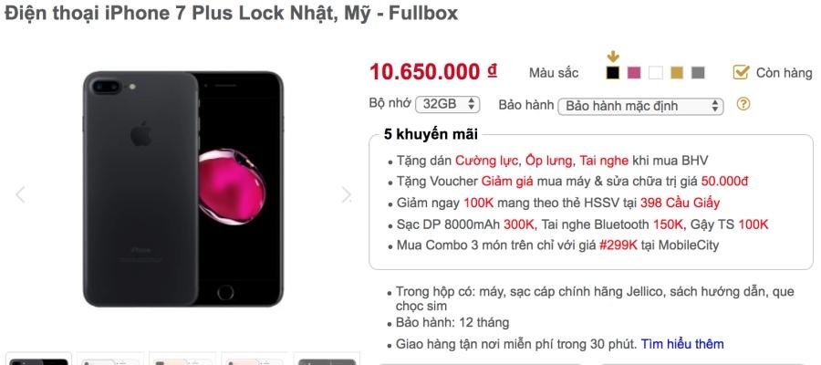 Khảo giá thị trường iPhone lock: phẳng lặng đợi sim ghép mới ảnh 7