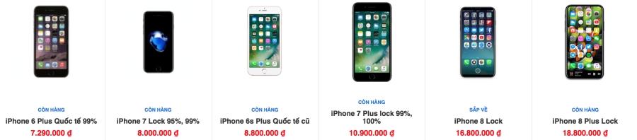 Khảo giá thị trường iPhone lock: phẳng lặng đợi sim ghép mới ảnh 8