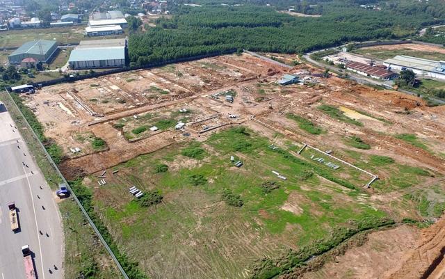 Khu vực thu hồi đất để làm sân bay nằm gần trọn trong xã Suối Trầu, huyện Long Thành, tỉnh Đồng Nai.