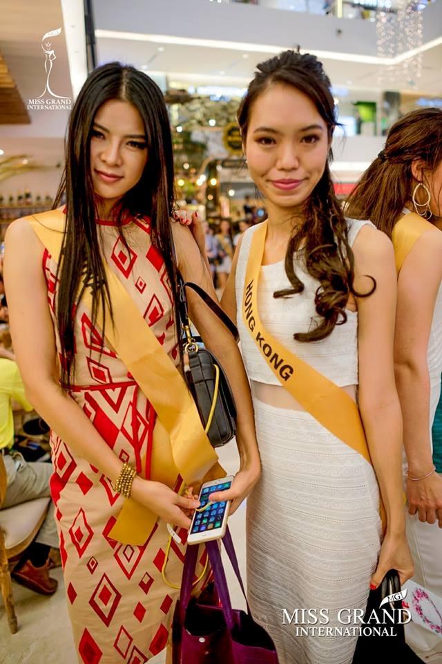 """Thí sinh Hong Kong bị cho là """"phiên bản lỗi"""" của Lan Khuê tại Miss Grand International 2017 - Ảnh 9."""