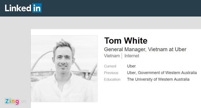 Uber Viet Nam da co CEO tam thoi thay ong Dang Viet Dung? hinh anh 1