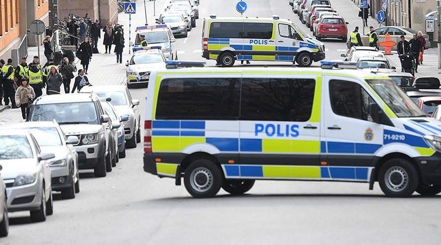 Một vụ xả súng xảy ra tại khu chợ ở Thụy Điển tối 12.10. Ảnh: Reuters
