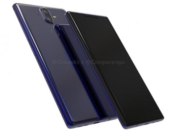 Nokia 9 sẽ có màn hình cong, camera kép lồi