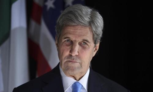 Cựu ngoại trưởng Mỹ John Kerry. Ảnh: Reuters.