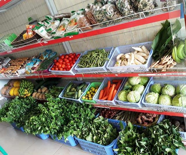 Những loại như rau cải, rau dền, rau mồng tơi không có hàng để bán