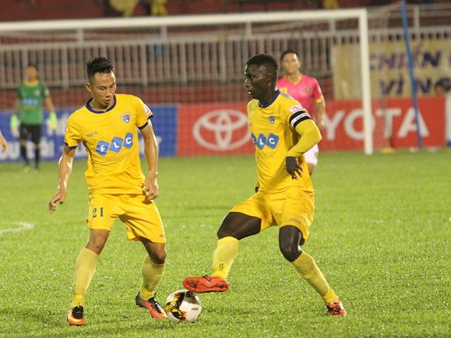 Thanh Hoá có trận đấu quan trọng với CLB Hà Nội tại xứ Thanh (ảnh: Trọng Vũ)