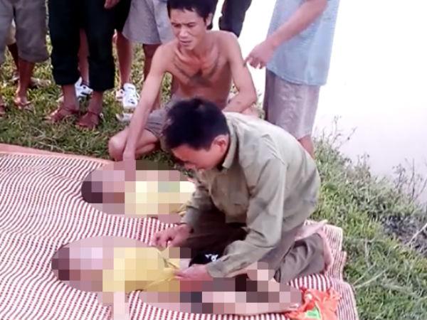 2 anh em tử vong khi trượt chân xuống ruộng lúa bị ngập lụt