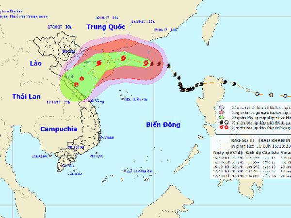 Bão Khanun có thể suy yếu, thiệt hại do mưa lũ tiếp tục tăng