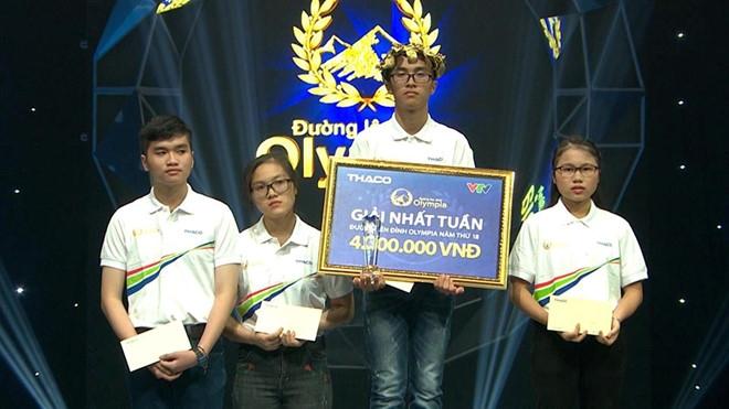 10X Quang Nam thang ap dao, nu sinh Ha Noi gay bat ngo tai Olympia hinh anh 1