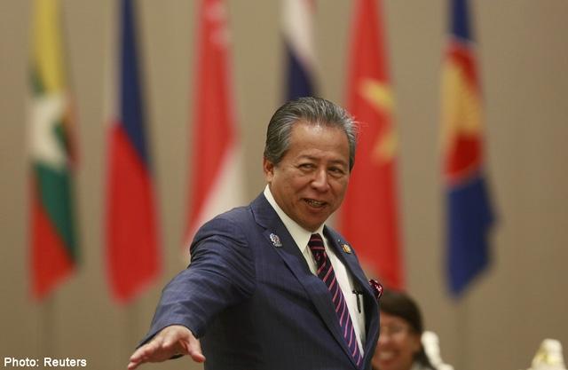Ngoại trưởng Malaysia Anifah Aman (Ảnh: Reuters)