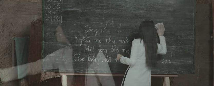 HOT: Mỹ Tâm trở thành cô giáo thời chiến, vướng vào chuyện tình đầy nước mắt với thầy giáo mưa Mai Tài Phến - Ảnh 3.