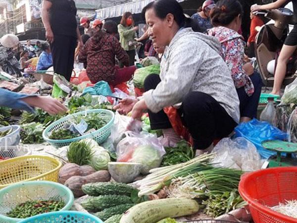 Mưa lớn kéo dài, vựa rau hư thối, mua rau xanh khó hơn mua thịt
