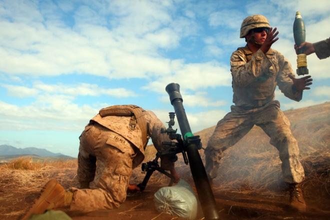 Ảnh: Thủy quân Lục chiến Mỹ huấn luyện khắc nghiệt trên khắp thế giới - Ảnh 6.