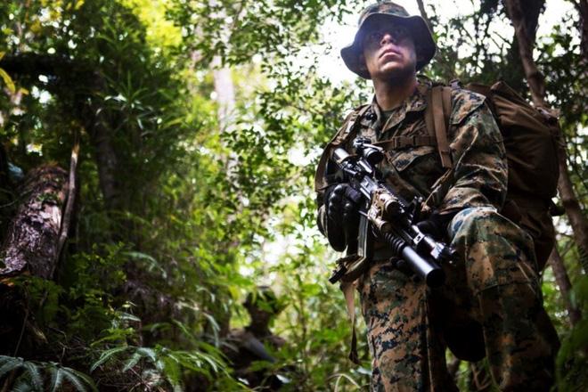 Ảnh: Thủy quân Lục chiến Mỹ huấn luyện khắc nghiệt trên khắp thế giới - Ảnh 14.