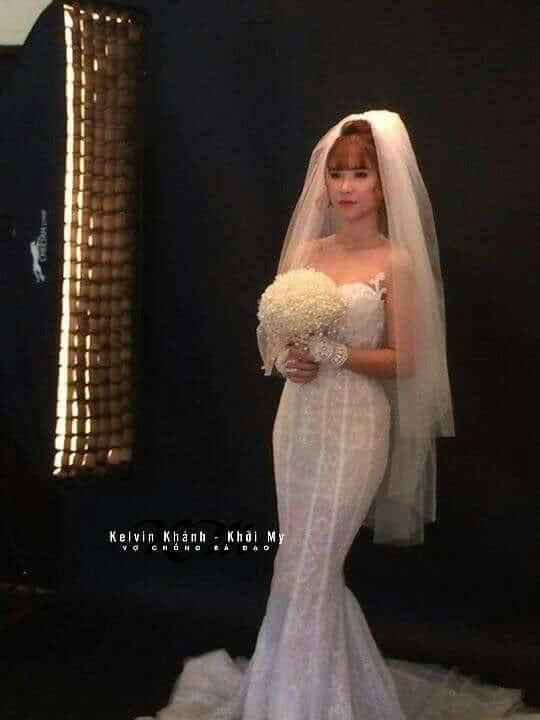 HOT: Khởi My e ấp, Kelvin Khánh để tóc dài lãng tử trong hậu trường chụp ảnh cưới - Ảnh 5.