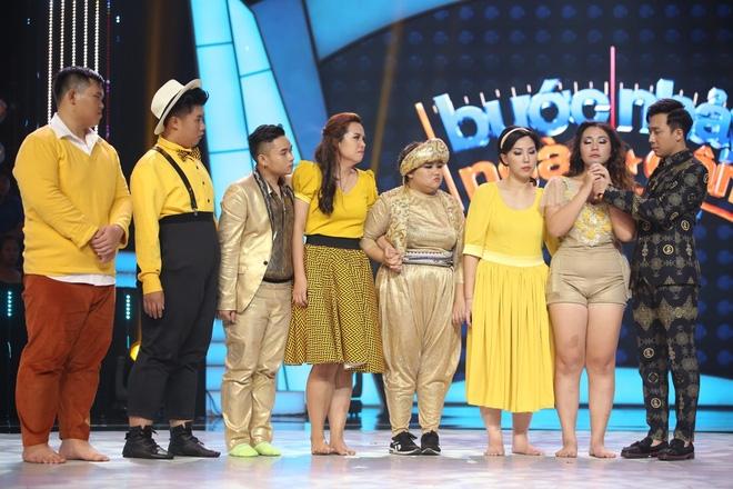 Thí sinh Bước nhảy ngàn cân gây sốc khi mặc váy mỏng khoe đường cong - Ảnh 6.