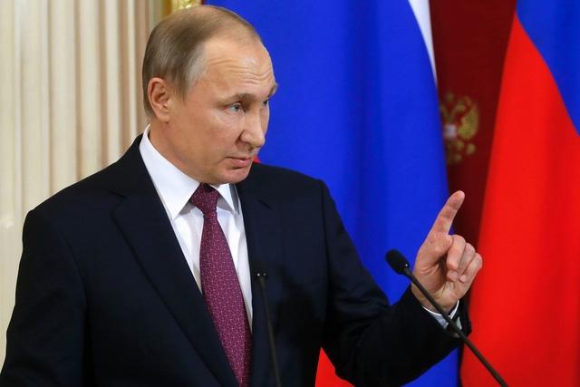 Tổng thống Putin (Ảnh: AFP)